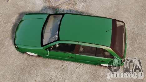 Volkswagen Gol G4 Edit для GTA 4 вид справа