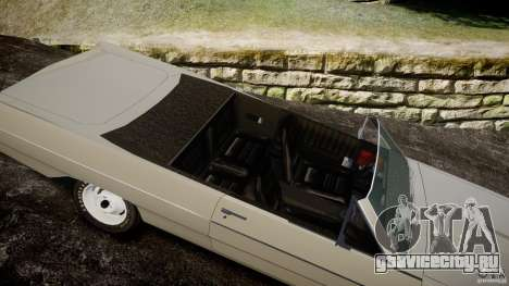 Plymouth Scamp 1971 для GTA 4 вид изнутри