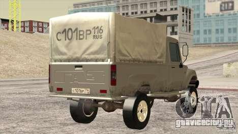 ГАЗ 2308 Атаман для GTA San Andreas вид справа