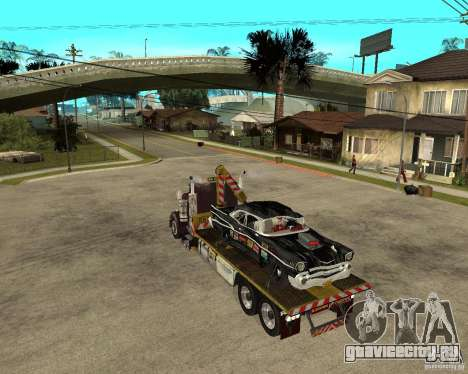 Kenworth W900 SALVAGE TRUCK для GTA San Andreas вид слева