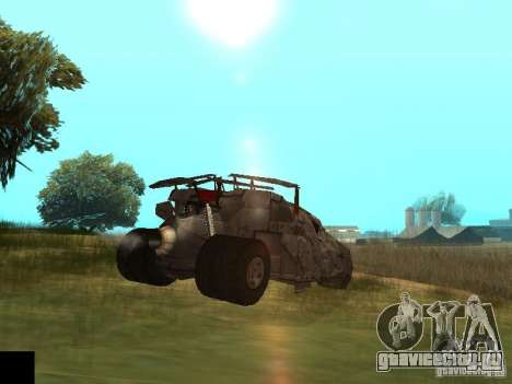 Batman Car для GTA San Andreas вид сзади