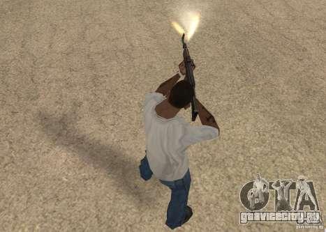 AK-47 для GTA San Andreas пятый скриншот