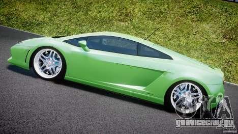 Lamborghini Gallardo LP 560-4 DUB Style для GTA 4 вид сбоку