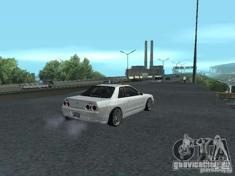 Nissan Skyline R32 Zenki для GTA San Andreas вид сзади