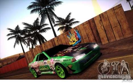 Elegy Toy Sport v2.0 Shikov Version для GTA San Andreas вид изнутри