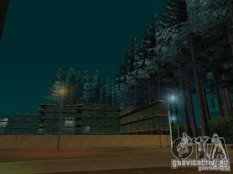 Лес в Las Venturas для GTA San Andreas второй скриншот