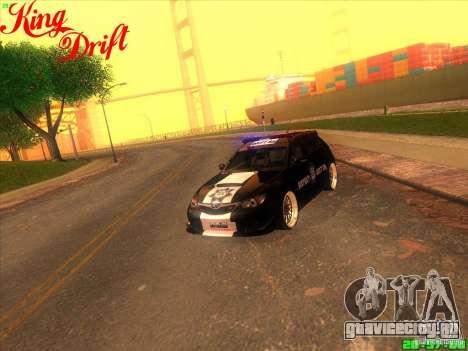 Subaru Impreza WRX Police для GTA San Andreas