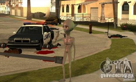 Alien для GTA San Andreas шестой скриншот