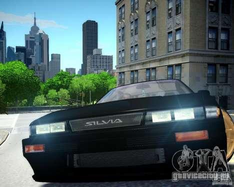 Nissan Silvia S13 для GTA 4 вид изнутри
