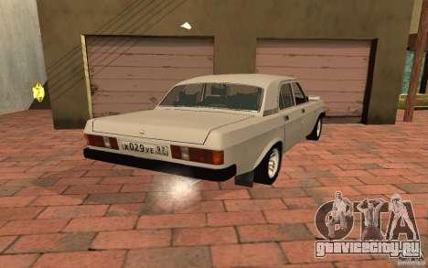 ГАЗ 31029 для GTA San Andreas вид слева