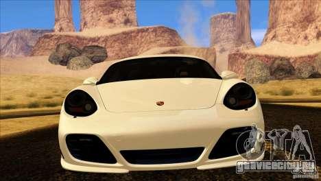 Porsche Cayman R 987 2011 V1.0 для GTA San Andreas вид сбоку