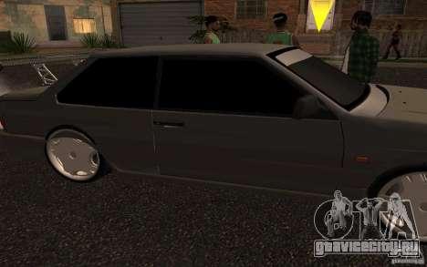 ВАЗ 2115 купе для GTA San Andreas вид сзади слева
