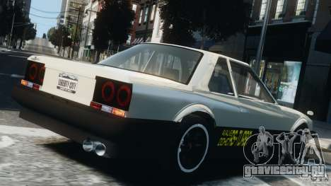 Nissan Skyline RS-X (R30) для GTA 4 вид слева