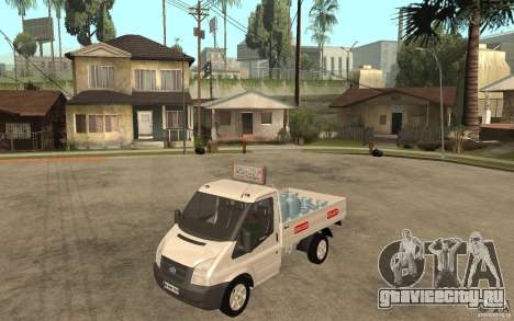 Ford Transit Pickup 2008 для GTA San Andreas