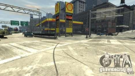 Shell Petrol Station для GTA 4 второй скриншот