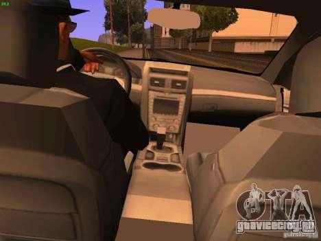 Chevrolet Lumina для GTA San Andreas вид сзади
