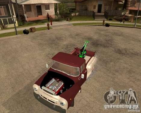 ЗИЛ 130 Fiery Tempe Final для GTA San Andreas вид сзади