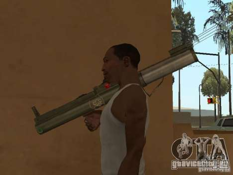 LAW Rocket launcher для GTA San Andreas четвёртый скриншот