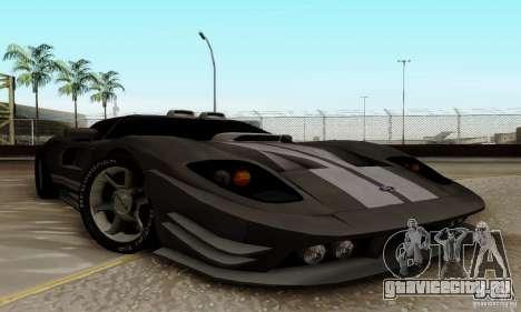 Ford GT Tuning для GTA San Andreas вид слева