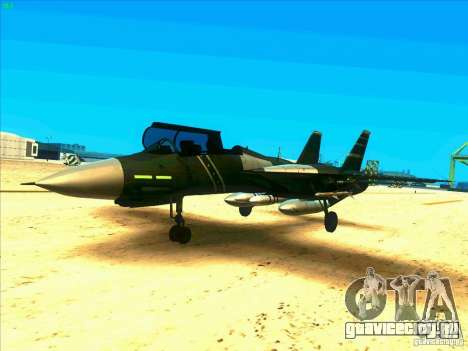 F-14 Tomcat Schnee для GTA San Andreas