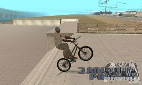 Trial bike для GTA San Andreas вид справа