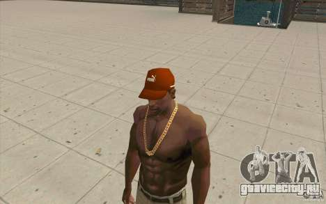 Кепка Puma для GTA San Andreas