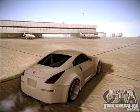 Nissan 350Z AdHoc для GTA San Andreas вид слева