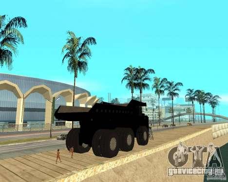 Dumper для GTA San Andreas вид сзади слева