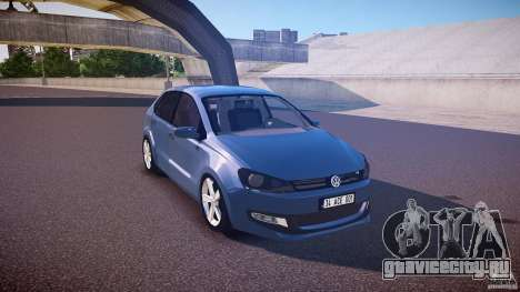 Volkswagen Polo 2011 для GTA 4 вид изнутри