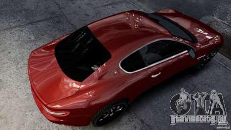 Maserati Gran Turismo 2008 Beta для GTA 4 вид слева