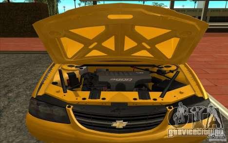Chevrolet Impala Taxi 2003 для GTA San Andreas вид справа