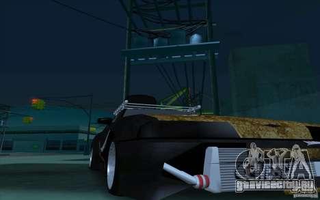Elegy Rat by Kalpak v1 для GTA San Andreas вид изнутри
