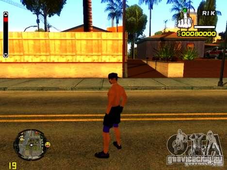 Пляжный человек для GTA San Andreas третий скриншот