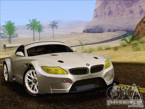 BMW Z4 E89 GT3 2010 Final для GTA San Andreas вид сзади слева