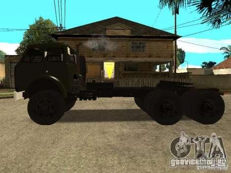 МАЗ 515В для GTA San Andreas вид слева