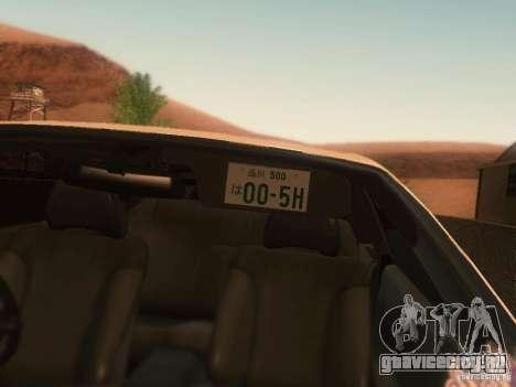 Nissan Skyline GTS R32 JDM для GTA San Andreas вид справа