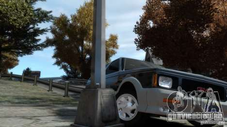 GMC Typhoon 1993 v1.0 для GTA 4 вид изнутри