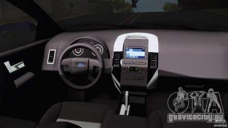 Ford Edge 2010 для GTA San Andreas вид справа