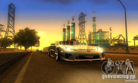 ENB Graphics by KINOman для GTA San Andreas пятый скриншот