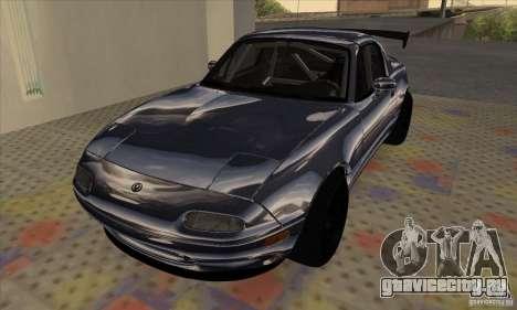 Mazda MX5 Style Drifting для GTA San Andreas