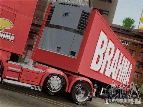 Прицеп для Scania R620 Brahma для GTA San Andreas вид сбоку