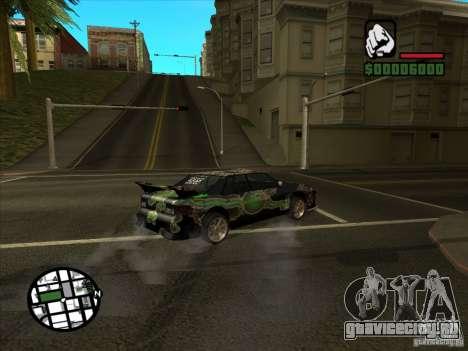 Новый винил для Cултана для GTA San Andreas вид сзади