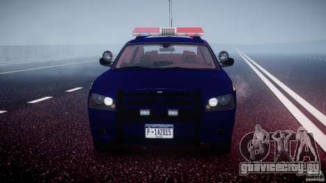 Dodge Charger NY State Trooper CHGR-V2.1M [ELS] для GTA 4 вид снизу