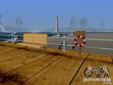 Новые текстуры пляжа v2.0 для GTA San Andreas второй скриншот
