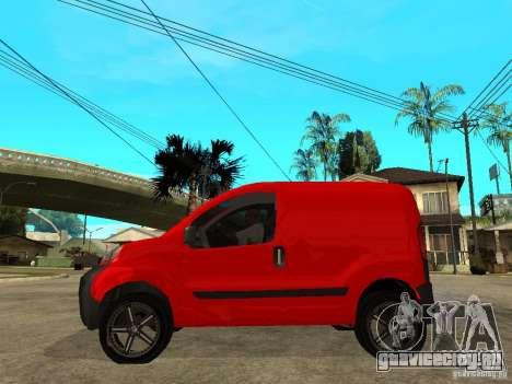 Fiat Fiorino Combi для GTA San Andreas вид слева