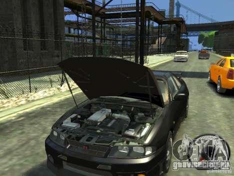 Nissan Skyline GT-R V-Spec (R33) 1997 для GTA 4 вид изнутри