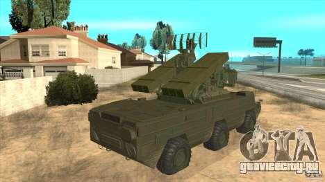 ЗРК ОСА для GTA San Andreas вид изнутри