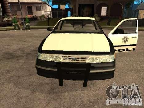 Ford Crown Victoria 1994 Police для GTA San Andreas вид справа