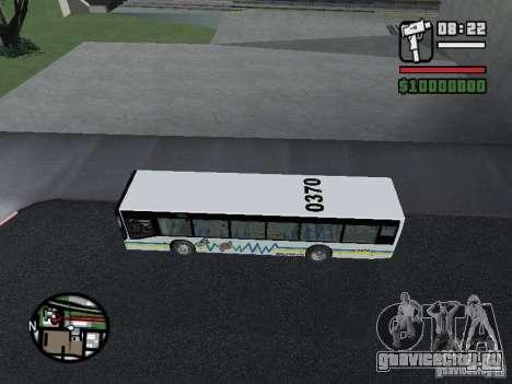 Onibus для GTA San Andreas вид сзади слева