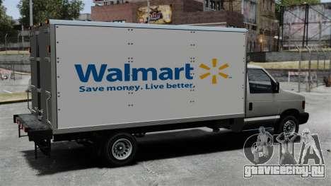 Новая реклама для грузовика Steed для GTA 4 вид слева